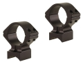 "Talley Lightweight 2-Piece Scope Mounts with Integral 1"" Rings Savage 93 Matte Low"