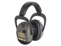 Pro-Ears Stalker Gold Electronic Earmuffs (NRR 25 dB)