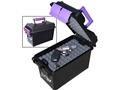 "MTM Handgun Concealed-Carry Pistol Case 13.5"" Black/Purple"