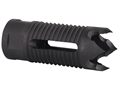 "AR-Stoner Talon Flash Hider 9/16""-24 Thread AR-15 6.5mm Parkerized"