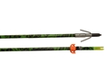 Muzzy Fishbone Fiberglass Bowfishing Arrow with Gar Point and Safety Slide Fishbone Camo