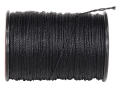 Bohning Serving Thread Bow String Serving .018&quot; Diameter Nylon Black