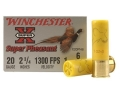 "Product detail of Winchester Super-X Super Pheasant Ammunition 20 Gauge 2-3/4"" 1oz #6 Copper Plated Shot"