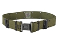 Military Surplus ALICE Pistol Belt Size Medium Nylon Olive Drab