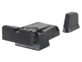 LPA SPR Target Sight Set CZ 75, 85 with Dovetail Front Sight Steel Blue
