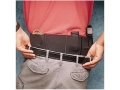 Product detail of DeSantis Belly Band Holster Small, Medium Frame Semi Automatic, Revolver 36&quot; to 42&quot; Waist Elastic Black