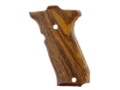 Hogue Fancy Hardwood Grips S&W 39, 52, 439, 539 and 639 Cocobolo