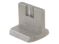 NECG Dovetail Fixed Blade Rear Sight Straight Steel in the White
