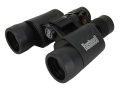 Bushnell Powerview Binocular Zoom Instafocus Porro Prism Rubber Armored Black