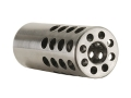Vais Muzzle Brake Micro 257 Caliber 1/2&quot;-32 Thread .750&quot; Outside Diameter x 1.750&quot; Length Stainless Steel
