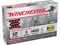 "Winchester Super-X Ammunition 12 Gauge 3"" 1 oz BRI Sabot Slug Case of 250 (50 Boxes of 5)"