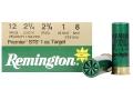 "Remington Premier STS Target Ammunition 12 Gauge 2-3/4"" 1 oz #8 Shot"