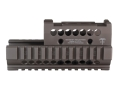 Product detail of Midwest Industries US Palm 2-Piece Railed Handguard AK-47, AK-74 with Aimpoint Micro, Vortex Sparc or Primary Arms Micro Dot Top Cover Optic Mount Aluminum