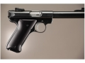 Hogue Extreme Series Grip Ruger Mark II, Mark III Brushed Aluminum Gloss Black