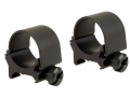 Weaver 1&quot; Top-Mount Rings Matte Medium