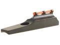 "Marble's Uni-Ramp Front Sight .405"" Height for .750"" Barrel Steel Blue Fiber Optic Orange"