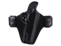 Bianchi Allusion Series 125 Consent Outside the Waistband Holster Right Hand 1911 Leather Black