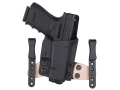 Comp-Tac CTAC Inside the Waistband Holster Right Hand Glock 9mm Luger, 40 S&amp;W Kydex Black