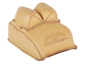 Protektor Bunny Ear Rear Shooting Rest Bag Leather Tan Filled