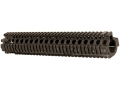 Daniel Defense M4 RIS II Free Float Tube Handguard Quad Rail AR-15 Rifle Length Aluminum Black