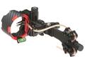 "Archer Xtreme Carbon Carnivore C4 4-Pin Bow Sight .019"" Diameter Pins Blackout"