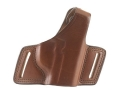 Bianchi 5 Black Widow Holster Right Hand Taurus PT111, PT140 Leather Tan
