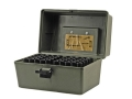 "MTM Shotshell Box with Handle 20 Gauge 2-3/4"", 3"" 100-Round Plastic Camo"