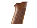 Hogue Fancy Hardwood Grips S&amp;W 6906 9mm, 40 S&amp;W Double Stack Checkered Cocobolo
