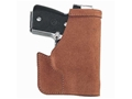 Galco Pocket Protector Holster Ambidextrous Ruger LCP, Kel Tec P3AT Leather Brown