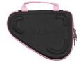 Allen 5&quot; Molded Compact Pistol Case for 25 ACP and 380 Foam Shell Black/Pink