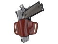 Bianchi 105 Minimalist Holster Left Hand Browning Hi-Power, 1911 Suede Lined Leather Tan