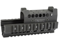 Product detail of Midwest Industries US Palm 2-Piece Railed Handguard AK-47, AK-74 with Burris Fast Fire Top Cover Optic Mount Aluminum