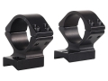 Talley Lightweight 2-Piece Scope Mounts with Integral 1&quot; Rings Cooper 22 Matte Low