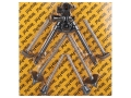 "Versa-Pod Prone Bipod Battle Pack 9"" to 12"" Raptor, Rubber, Ski Feet Black"