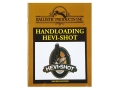 "Product detail of BPI ""Handloading Hevi-Shot: 4th Edition"" Shotshell Reloading Manual"