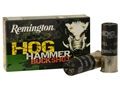 "Remington Hog Hammer Ammunition 12 Gauge 2-3/4"" 000 Buckshot 8 Pellets Box of 5"