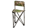 Hunter's Specialties Tripod Chair Steel Frame Polyester Seat Realtree Xtra Green Camo