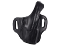 "El Paso Saddlery Strongside Select Thumb Break Outside the Waistband Holster Right Hand Springfield XD 9/40 4"" Leather Black"