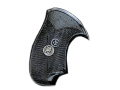 Pachmayr Compac Grips Colt Agent, Cobra, Detective Special, Diamondback (Post 1971) Rubber Black