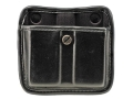 Bianchi 7922 AccuMold Elite Triple Threat 2 Magazine Pouch 1911, Ruger P90, S&amp;W 909, 3913, Sig Sauer P220, P225, P239 Trilaminate Black