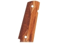 Hogue Grips 1911 Government, Commander Checkered Goncalo Alves