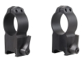 Warne 30mm Maxima Quick-Detachable Picatinny-Style Rings AR-15 Flat Top Matte Ultra High Aluminum