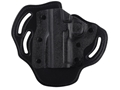 DeSantis Intimidator 2.0 Belt Holster Left Hand 1911 Government, Commander Kydex and Leather Black
