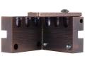 Saeco 3-Cavity Bullet Mold #940 9x18mm (9mm Makarov) (365 Diameter) 100 Grain Round Nose Bevel Base