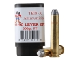 Product detail of Ten-X Cowboy Ammunition 45-90 WCF Lever Action 300 Grain Flat Point BPC Box of 20
