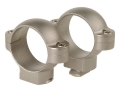 "Burris 1"" Standard Rings Silver Medium"
