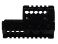 Midwest Industries 2-Piece Handguard Quad Rail Mini Draco AK-47 Pistol Aluminum
