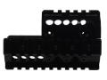 Midwest Industries 2-Piece Handguard Quad Rail Mini Draco AK-47 Pistol Aluminum