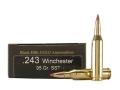 Black Hills Gold Ammunition 243 Winchester 95 Grain Hornady SST Box of 20
