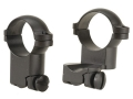 Leupold 1&quot; Extended Ring Mounts Ruger #1, 77/22 Matte Super-High
